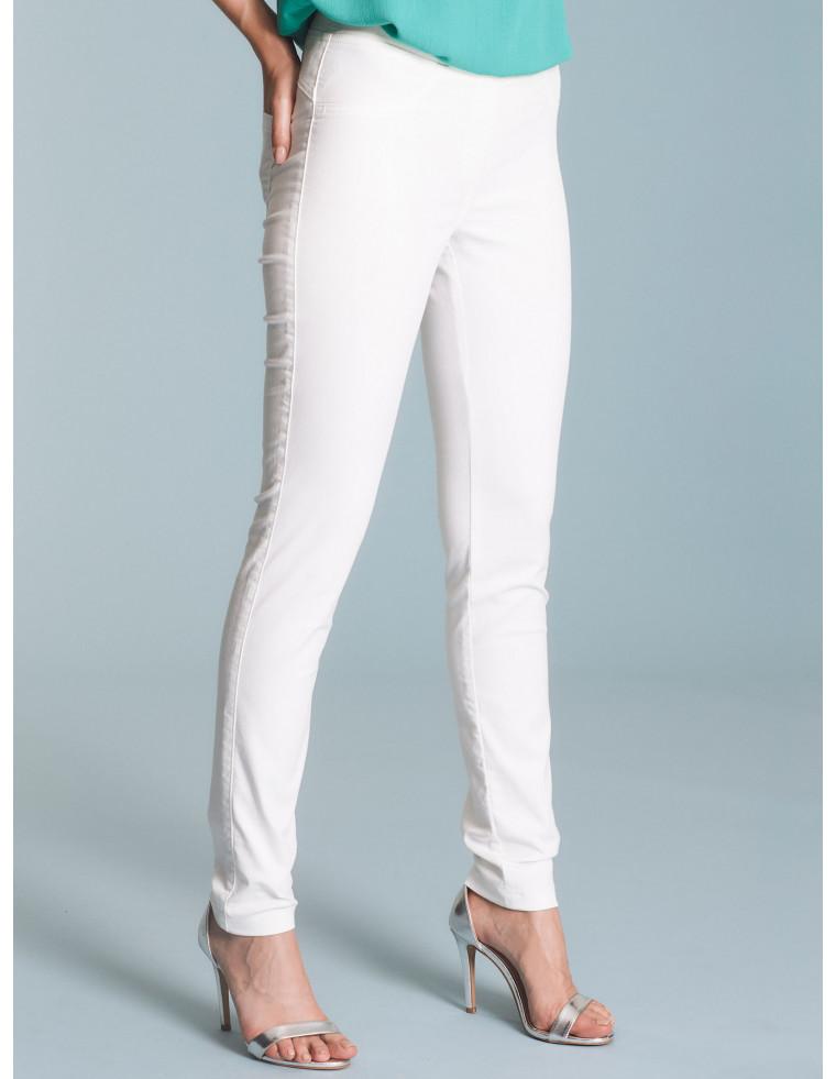 Jeans con 5 tasche in tinta unita - by RAGNO