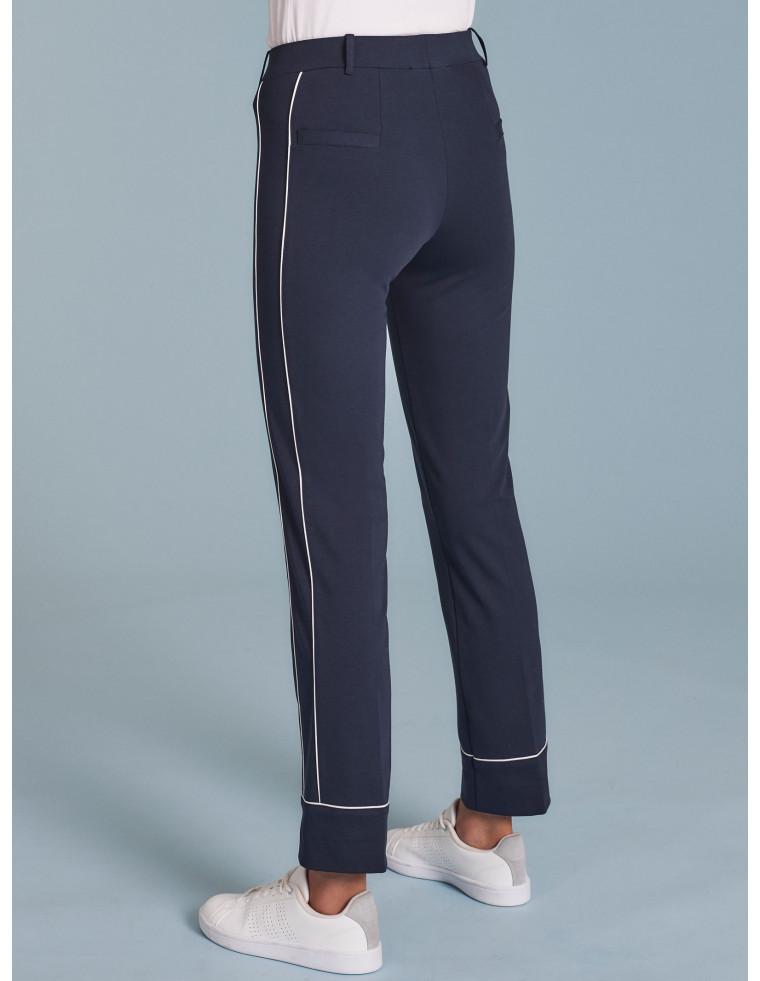 Pantaloni capri con profilo - by RAGNO