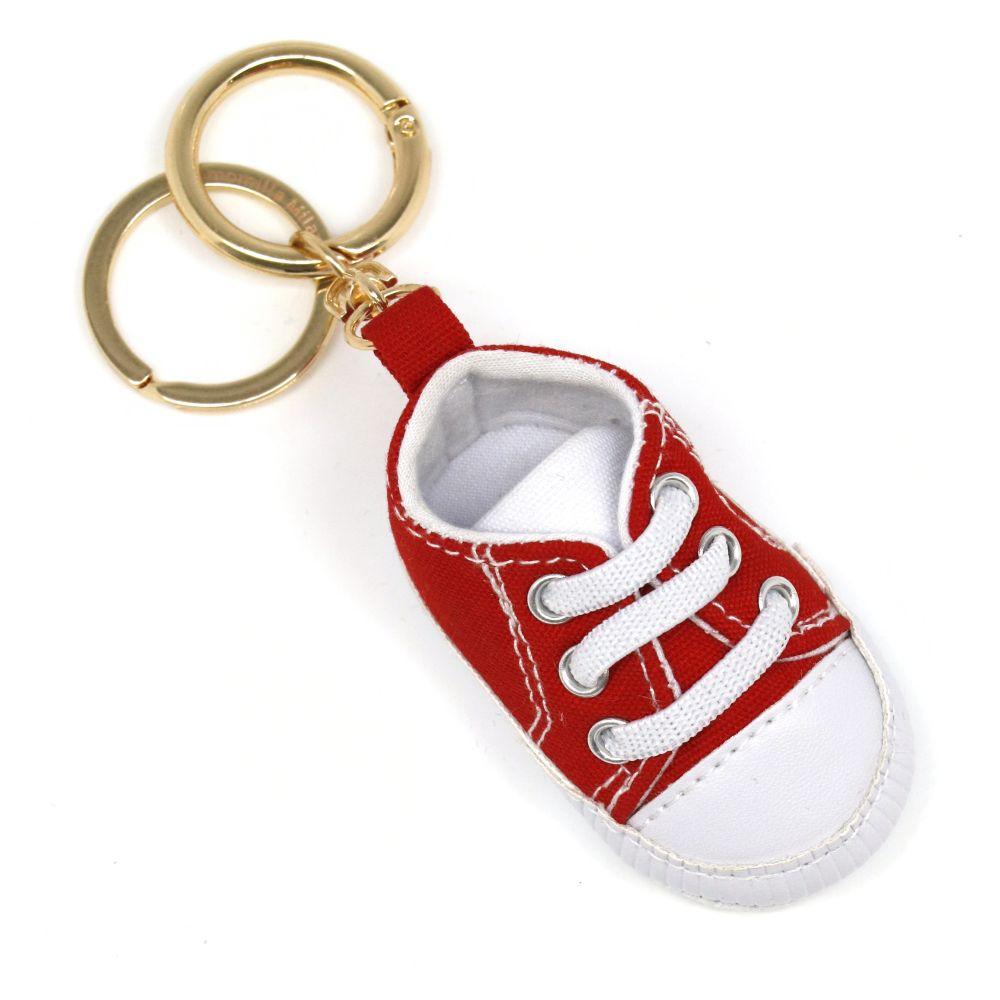 Portachiavi baby sneker rosso