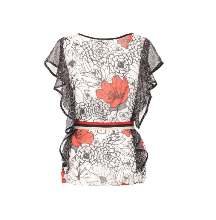 Shirt con fantasia floreale - by Maison Espin