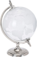 Mappamondo vetro 19x27 cm