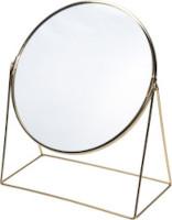 Specchio da tavolo oro 32x39 cm