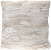 Cuscino pelo bianco 45x45 cm