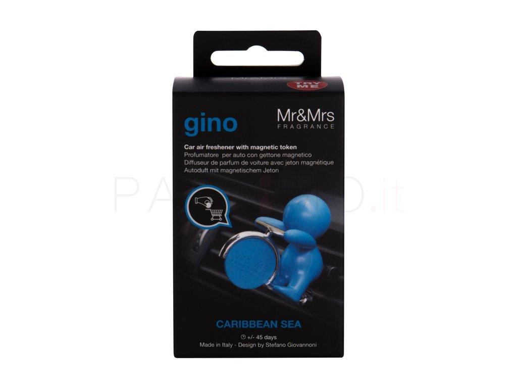 Deodorante auto Gino Carrabean Sea - Mr&Mrs. Fragrance