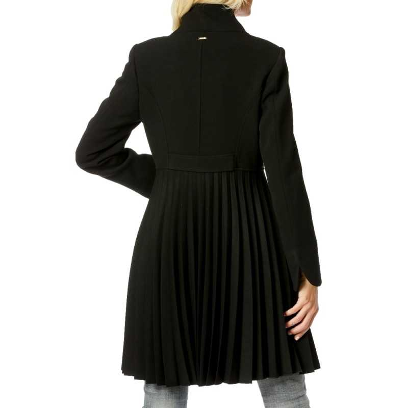 Cappotto nero Fracomina